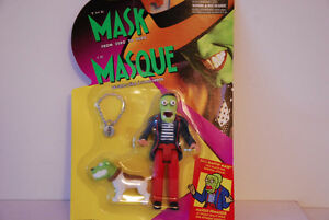 Hasbro/Kenner THE MASK: FROM ZERO TO HERO Face Blastin' Mask Edmonton Edmonton Area image 1