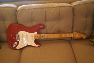 Fender Stratocaster 1999 Candy Apple Red MIM