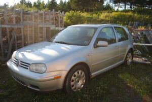 2001 Volkswagen Golf GL Coupe (2 door)