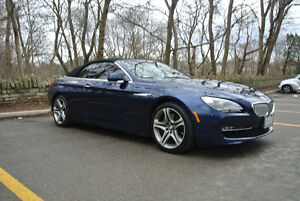 2012 BMW 650i Convertible / Executive Pkg /  H.U.D / Navi / 20""