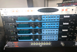 Lexicon PCM 91 (4 units for sale) & Dangerous Music 2-BUS LT