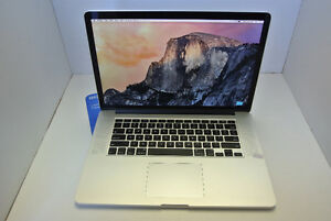 Macbook Pro , i7, 8gb ram, 256ssd, 15.4""