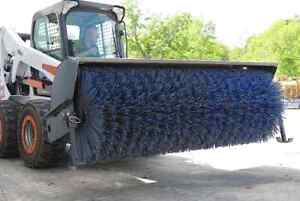 Jenkins HEAVY DUTY Sweeper Skidsteer Attachment Moose Jaw Regina Area image 2