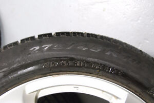 Pirelli Winter Tires -Nearly new West Island Greater Montréal image 4