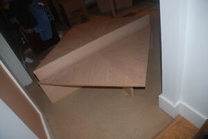 Solid White Ash Coffee and Side Tables North Shore Greater Vancouver Area image 1