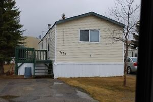 Manufactured Home for Rent in Cheviot Heights Peace River, AB