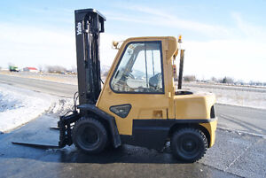 CHARIOT ELEVATEUR,FORKLIFT,SIDESHIFT,PROP,DOUBLE ROUES,YALE GDP0