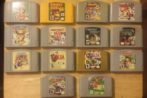 Assortment of Nintendo 64/N64 Titles - Prices in Description
