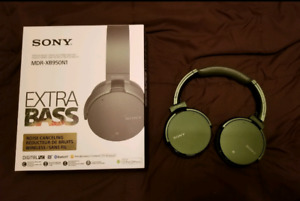 Sony MDRXB950N1/G XB950N1 Noise-Cancelling Extra Bass Wireless H