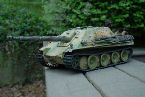 German JagdPather Tank Destroyer - 1/16 Scale R/C Tank Modded