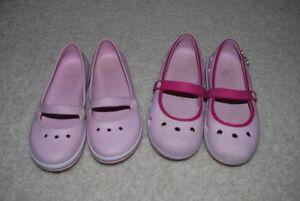 girls crocs size 13