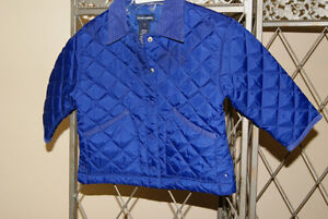 Ralph Lauren Girls Royal Blue Quilted Jacket Size 2 Years