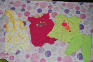 Bag of Baby / Infant Girl Clothes size 3 - 6 months