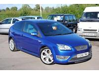 2006 Ford Focus 2.5 ST-2 Blue 3 Door Hatchback Manual Petrol