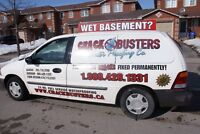 WET BASEMENT? We offer a LIFETIME GUARANTEE!