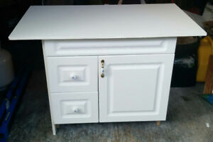 White Vanity for sale. Like new condition