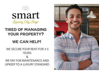 Tired of Managing your Property? We Guarantee your rent for 3-5 years.