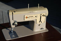 Singer Sewing Machine Model 457 Stylist with cabinet
