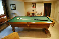 Olhausen Pool Table - Extremely Good Condition