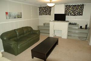 Fully furnished 1 bedroom basement suite, June 1