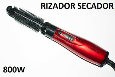 RIZADOR - SECADOR DE PELO 800W PROFESIONAL 2 EN 1 ELECTRICO PEINE...