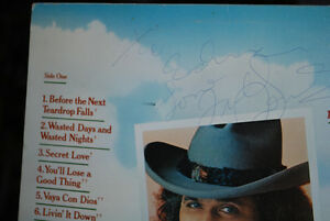 AUTOGRAPHED RECORD ALBUM FROM THE LATE FREDDY FENDER