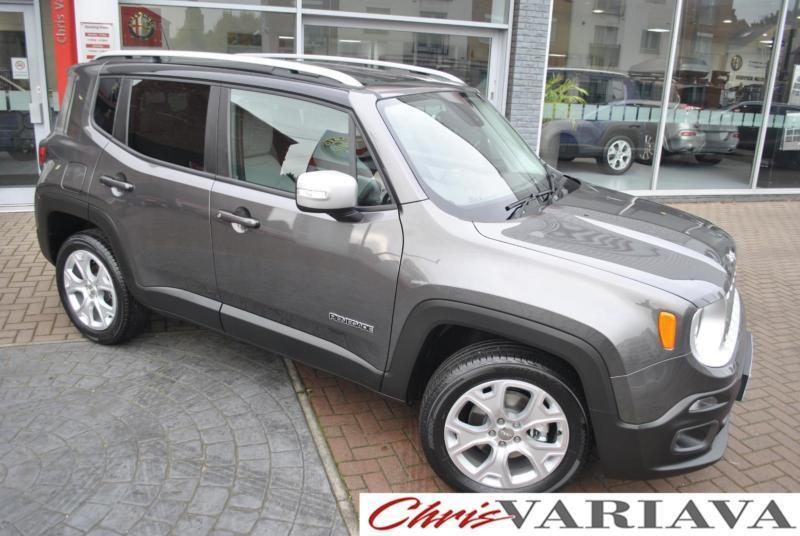 2016 Jeep Renegade LIMITED 4X4 ** FACTORY FITTED OPTIONS ** Petrol grey Automati