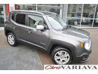 2016 Jeep Renegade LIMITED 4X4 9Speed Auto Big spec Petrol grey Automatic
