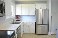 Stainless Fridge, Stove, Washer and Dryer