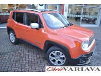 2016 Jeep Renegade M-JET LIMITED ** Panoramic Sunroof** Diesel orange Manual