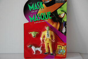 1995 Kenner The Mask From Zero To Hero Sealed Heads-up Mask