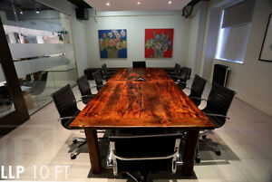 Unique Ontario Barnwood Boardroom Tables