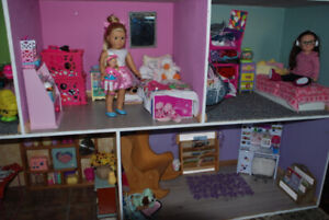 American doll and accessories
