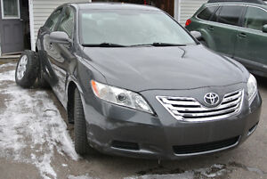 2008 TOYOTA CAMRY LEATHER-6 CYLINDER-SEE-IT