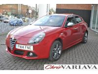 2014 Alfa Romeo Giulietta 1.4 TB MultiAir Exclusive 5dr Petrol red Manual