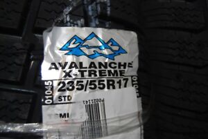 Brand New Winter Tires made by Avalanche Extreme  235/55/R17