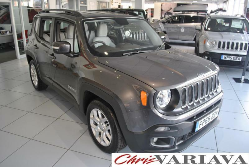 2016 jeep renegade m jet longitude ski grey cloth diesel grey manual in old basford. Black Bedroom Furniture Sets. Home Design Ideas