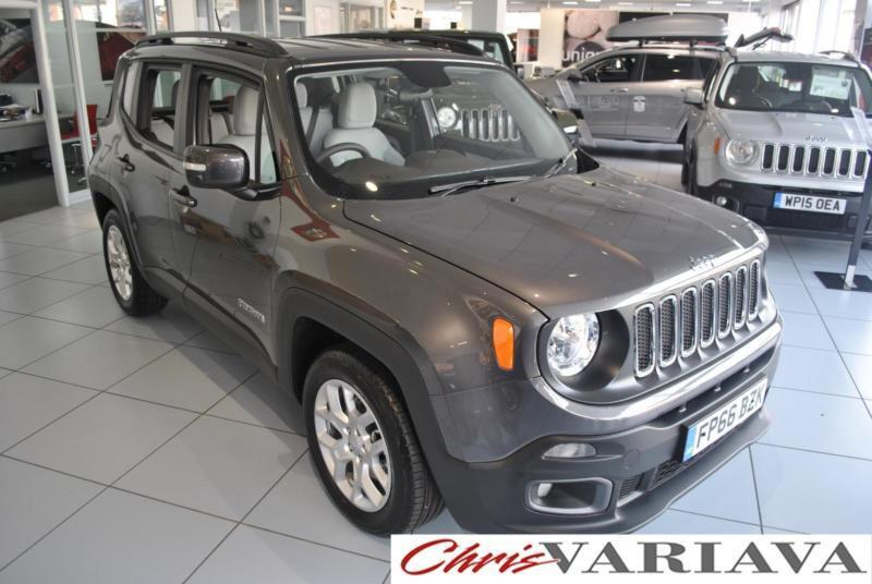 2016 Jeep Renegade M-JET LONGITUDE ** SKI GREY CLOTH ** Diesel grey Manual
