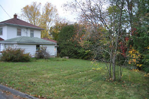 SOLD Building lot by Acadia University
