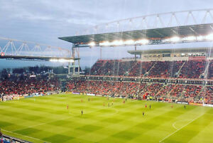 TFC home tickets for the rest of the season in Section 203 Row 5