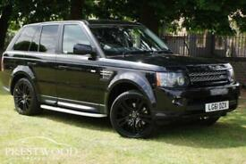 2011 / 61 LAND ROVER RANGE ROVER SPORT 3.0 SDV6 HSE AUTO [255 BHP] 4X4 - BLACK