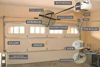 garage door and opener installation