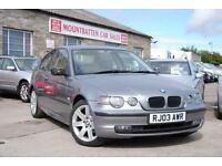 2003 BMW 316 TI Compact Grey 3 Door Hatchback Petrol Manual