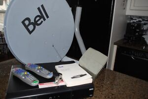 COMPLETE BELL 9242 HD PVR SATELLITE SYSTEM