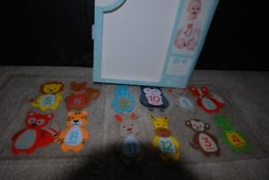 Pearhead First 1st Year Felt Belly Stickers - Animal Themed