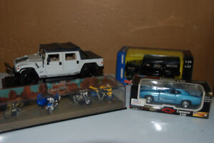 Diecast Vehicles.