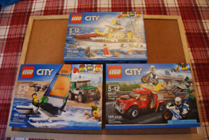 3 Lego City Sets $23 each or all 3 for $63 - Brand New