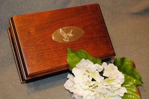 Handcrafted Hardwood Keepsake Cremation Urns