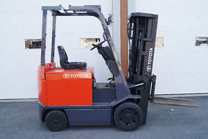 forklift ,cushion,side shift,electric,toyota7fbcu25,4SECTIONS