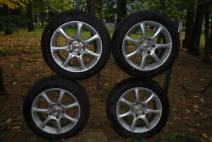 205/55 R16 Dunlop SP Winter Sport Tires and Wheels